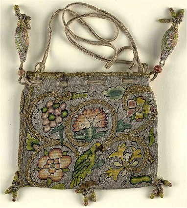 Book or sweete bag, late 16th C