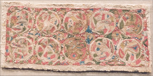 Image: Roundals from the Maaseik Embroideries